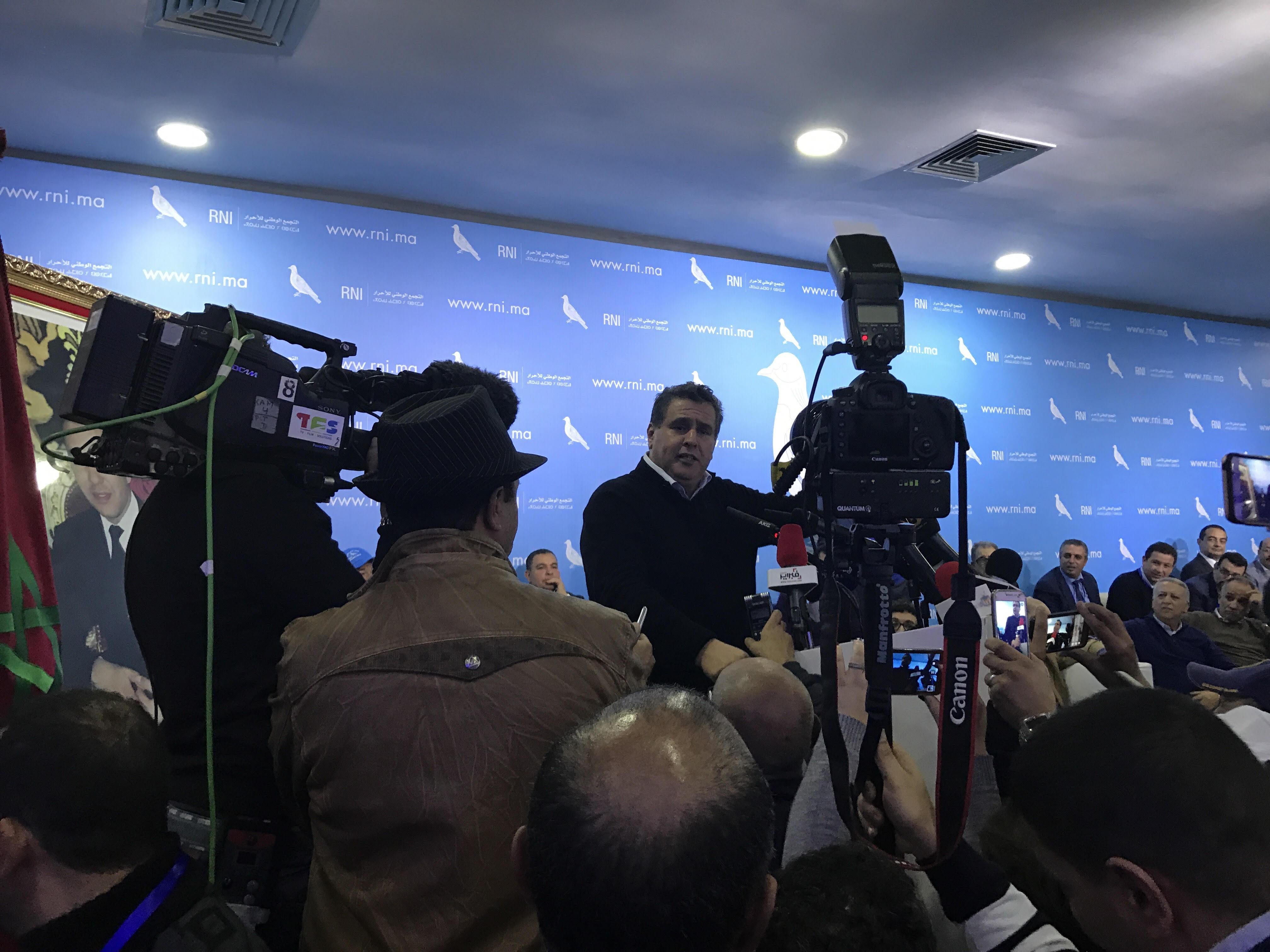 عاجل. اخنوش: لازم البرلمان يخرج من العطالة ديالو ويشتغل