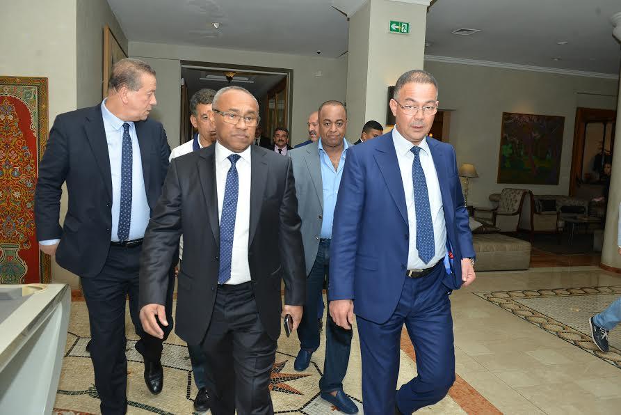 """ها آش طلب رئيس """"الكاف"""" بعدما ترشح المغرب لاستضافة كأس العالم"""