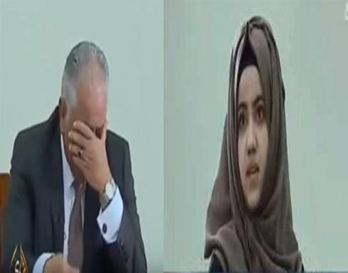 بالفيديو. بنت بكات قاضي فوسط المحكمة