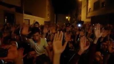 بالفيديو. نشطاء الحسيمة يؤدون قسم الحراك وعدم المساومة على قضية الريف